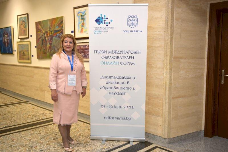 Антоанета Хинева -Общ. Варна-организатор