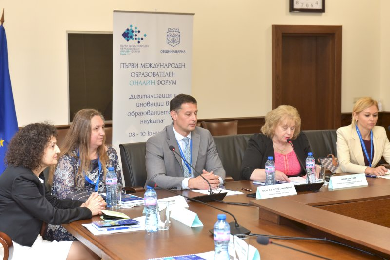 Официално откриване он г-жа Лилия Христова, директор дирекция ОМД, Общ. Варна