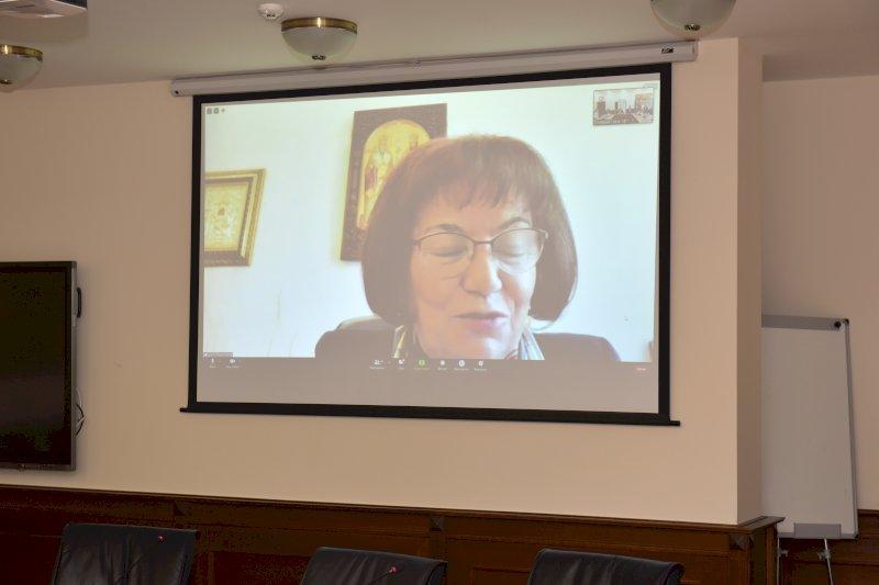 Приветствие от г-жа Янка Такева, председател на СБУ при КНСБ
