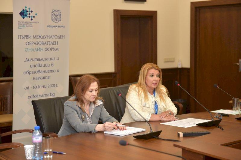 Закриване на форума- Славничка Ангелова и Антоанета Хинева-Общ. Варна (2)